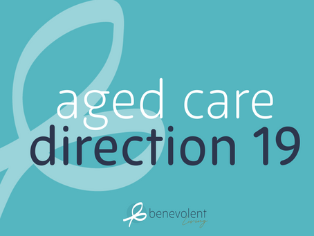 Aged Care Direction 19