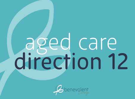 Aged Care Direction 12