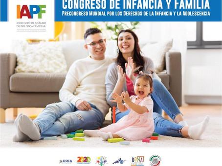 ¡Se parte del próximo congreso de Infancia y Familia!
