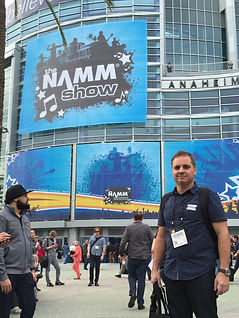 Eduardo Ron at NAMM