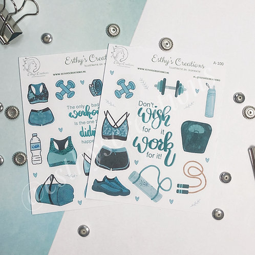 Fitgirl stickers