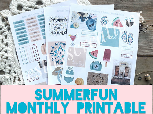 Printable Summerfun