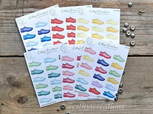 Sneaker/Steps stickers