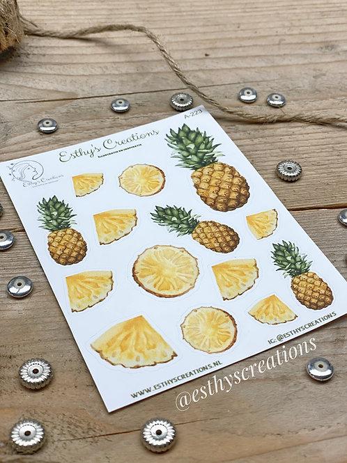 Ananas stickers
