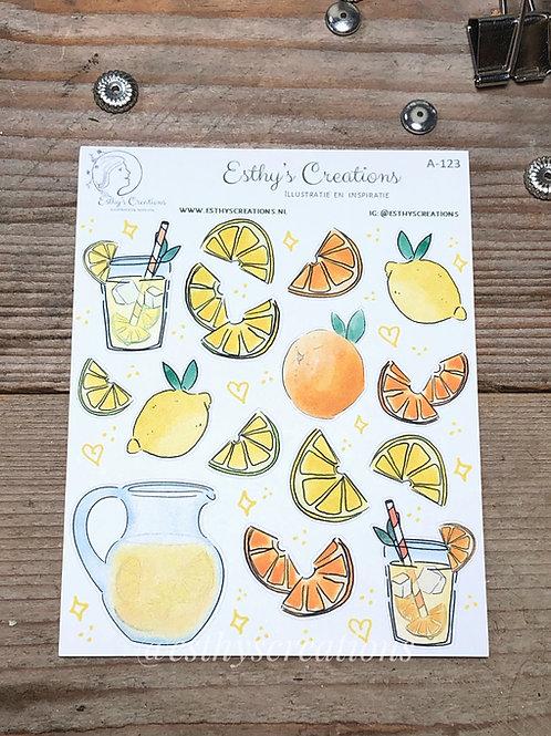 Citrusfruit stickers