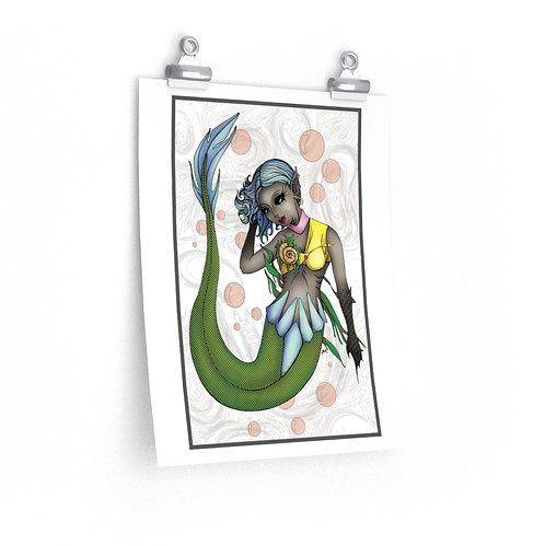 Premium Matte vertical posters - Mermaid