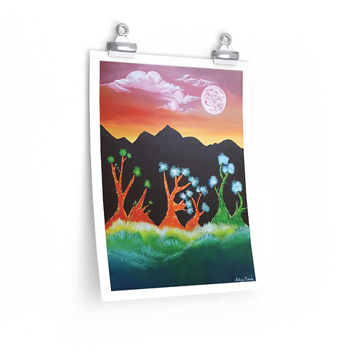 Premium Matte vertical posters - Mother