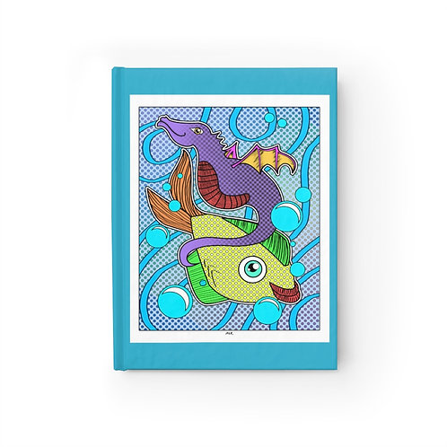 Journal -  Ruled - Fishy Friends