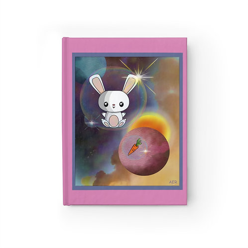 Journal - Blank - Kawaii-style Space Bunny