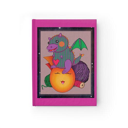 Journal - Ruled Line - Kawaii-style Cute Dragon