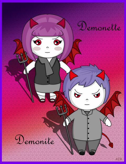 Kawaii-style Lil Demons