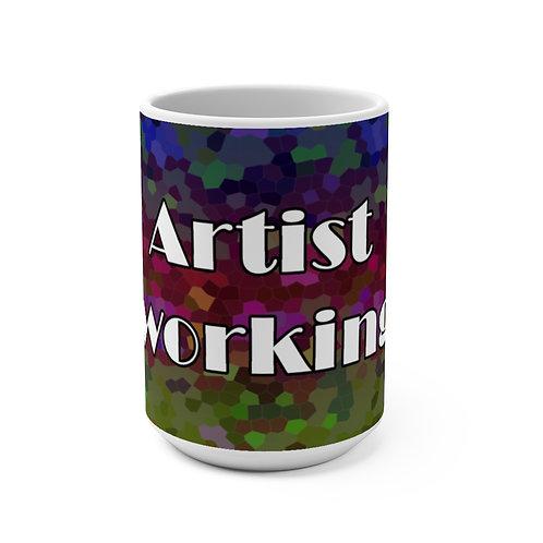 Mug 15oz - Artist Working_#2