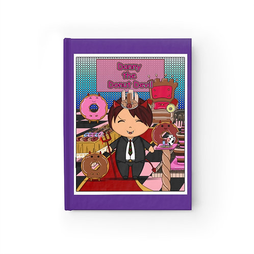 Journal - Blank - Kawaii-style Danny the Donut Devil