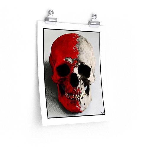 Premium Matte vertical posters - Skull