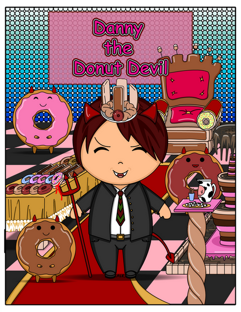 Kawaii-style_Danny_the_Donut_Devil