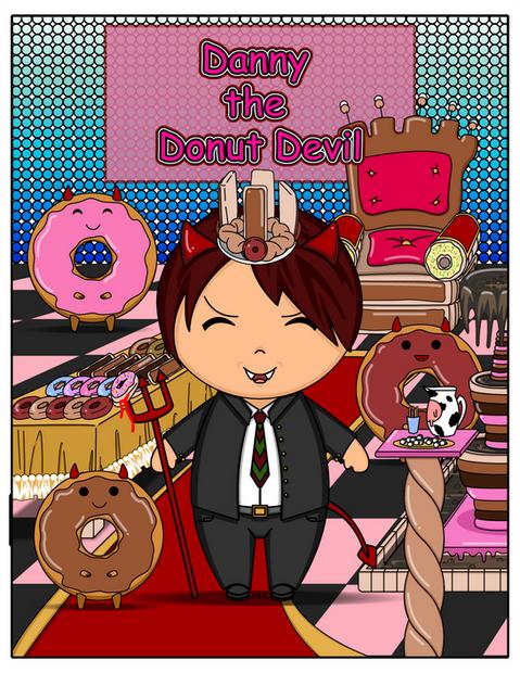 Kawaii-style_Danny_the_Donut_Devil