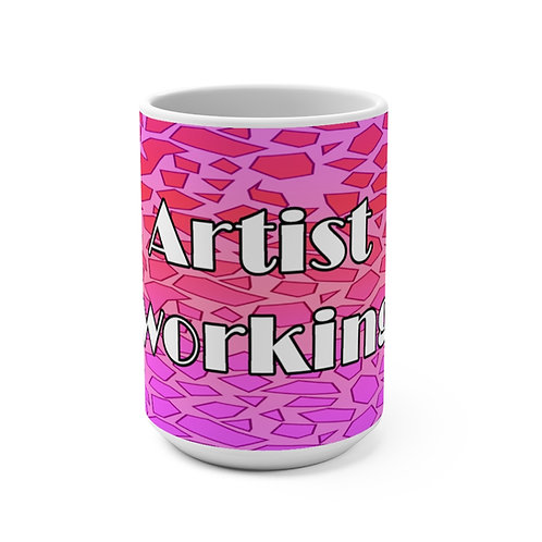 Mug 15oz - Artist Working_#3