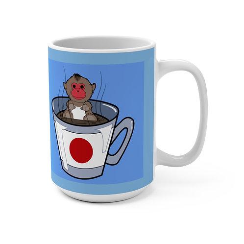 Mug 15oz - Snow Monkey