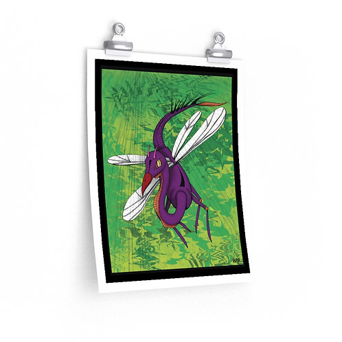 Premium Matte vertical posters - Bug Dragon