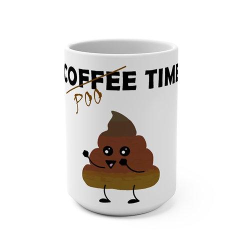 Mug 15oz - Poo Time