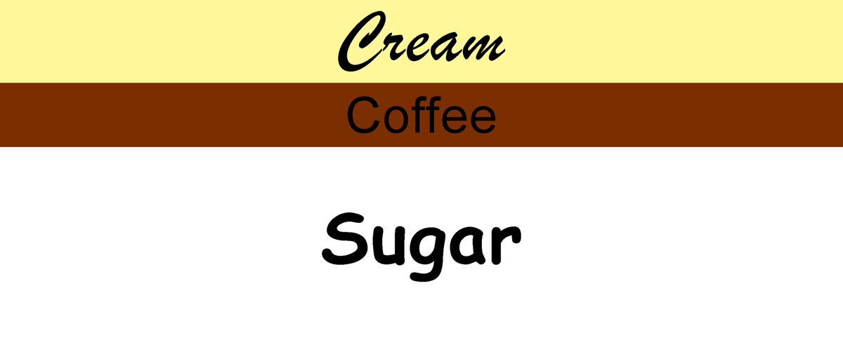 Sugar Coffee Cream