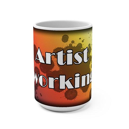 Mug 15oz - Artist Working_#1