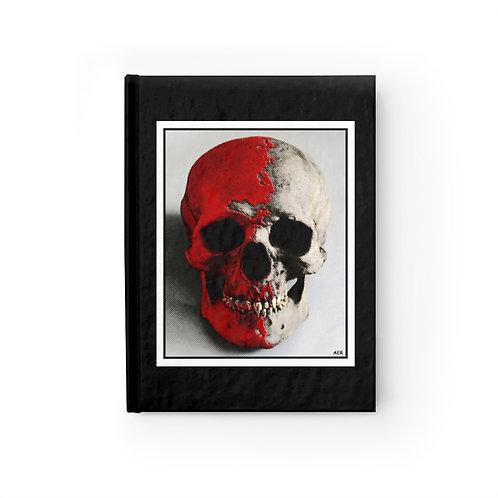 Journal - Ruled Line - Skull