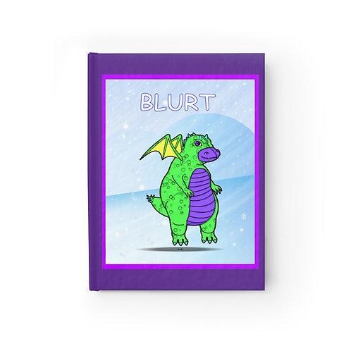 Journal - Ruled Line - Blurt the Dragon