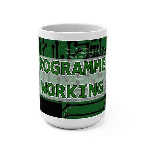 Mug 15oz - Programmer Working