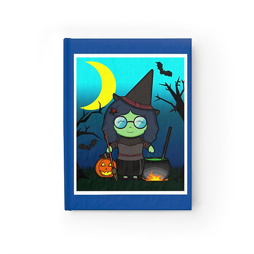 Journal - Blank - Kawaii-style Witch