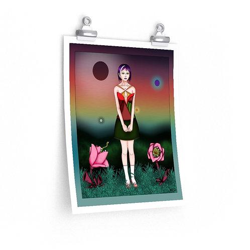 Premium Matte vertical posters - Stripe