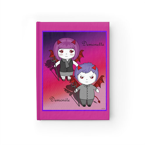 Journal - Blank - Kawaii-style Lil Demons
