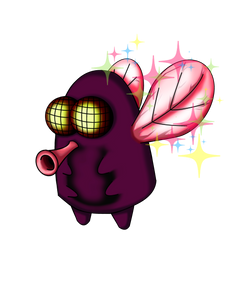 Kawaii-style Fly