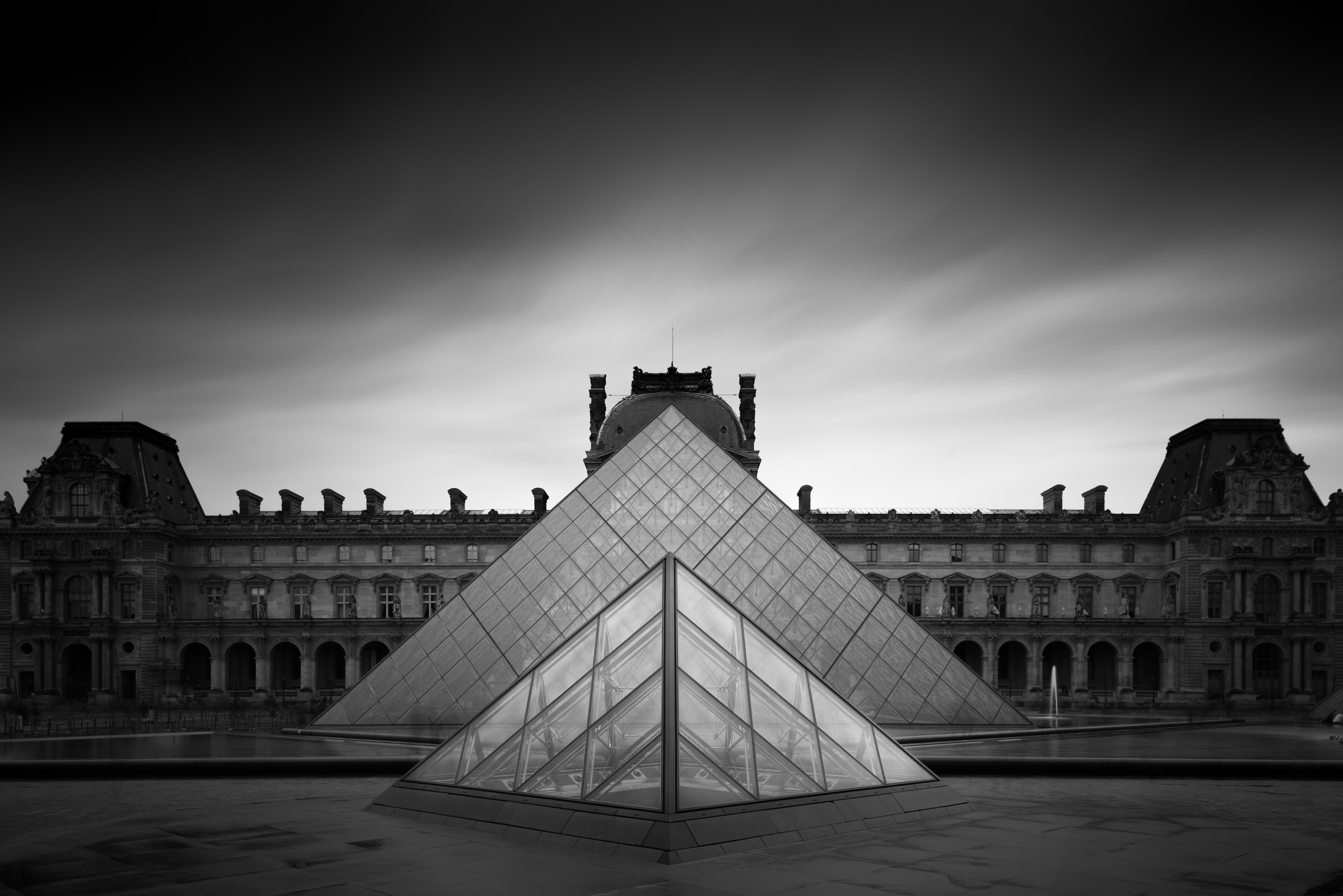 PYRAMIDE DU LOUVRE __ TWO