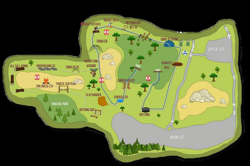 Lord's Gym Kids Run 2020 Map transparent