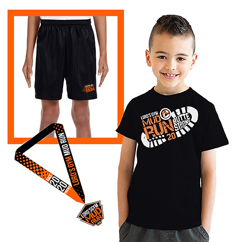 Kids Shirt + Shorts + Medal