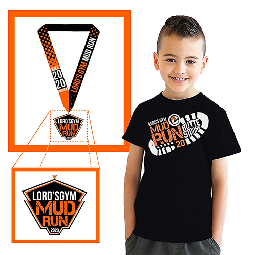 Kids Shirt + Medal