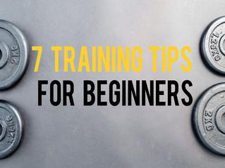 7 Training Tips for Beginners