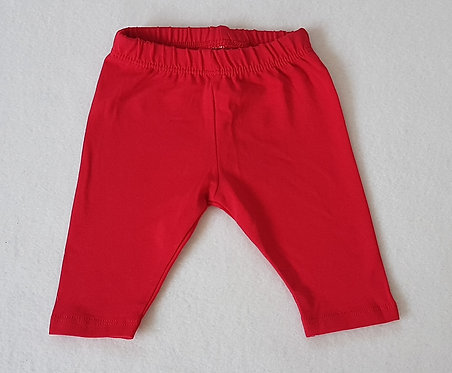 George. Red leggings. First Size.