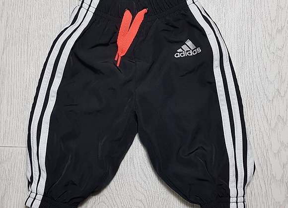🏴ADIDAS. Black Messi tracksuit bottoms. Age 0-3 months