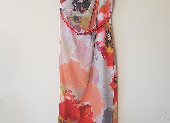 🏴COAST. Floral maxi dress with detachable straps. Size 10