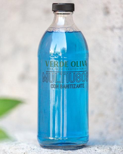 Limpiador Multiusos Biodegradable con Sanitizante