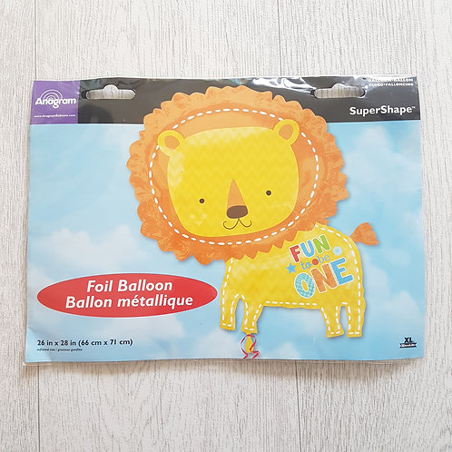 🏳ANAGRAM. Foil lion balloon. New with tags