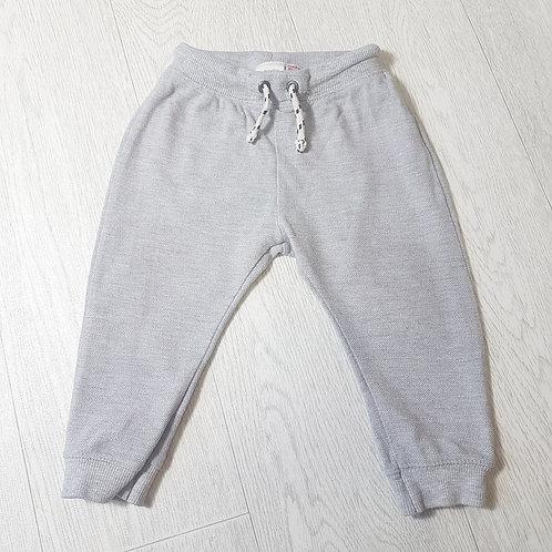🏴ZARA. Grey jogging bottoms. Age 12-18 months