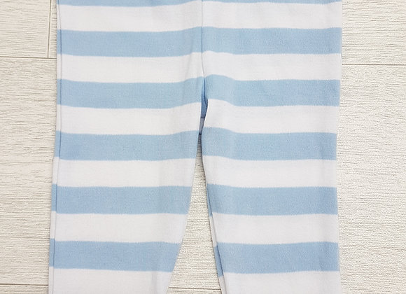 🏳F&F. Blue and white striped soft trousers. Age 3-6 months