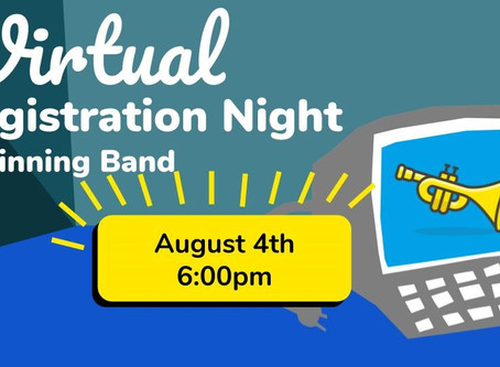 6th Grade Beginning Band Registration