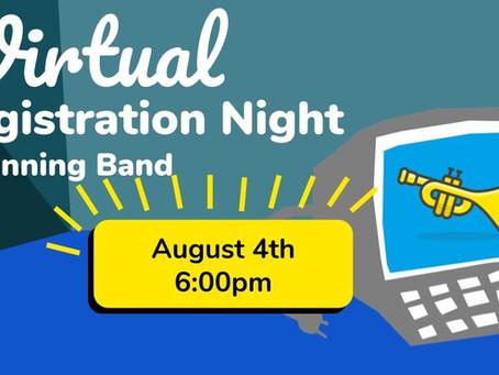 6th Grade Beginning Band Registration