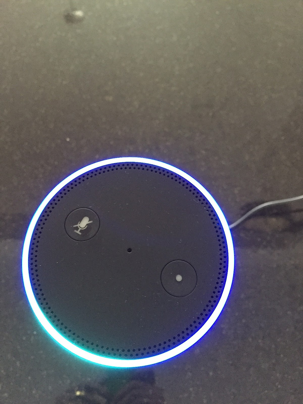 Alexa's beaming 'circle of death'