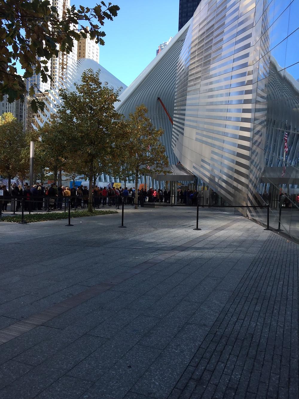 9/11 memorial museum entrance