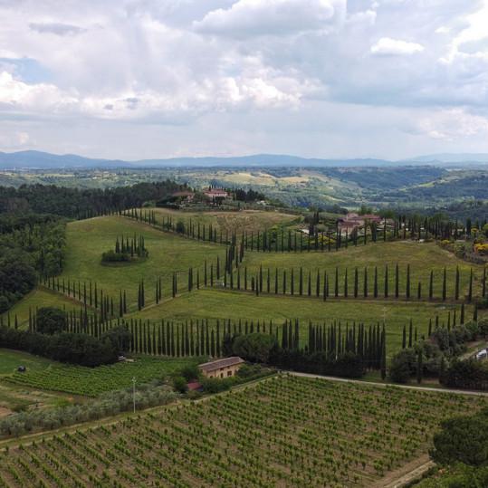Tuscany views